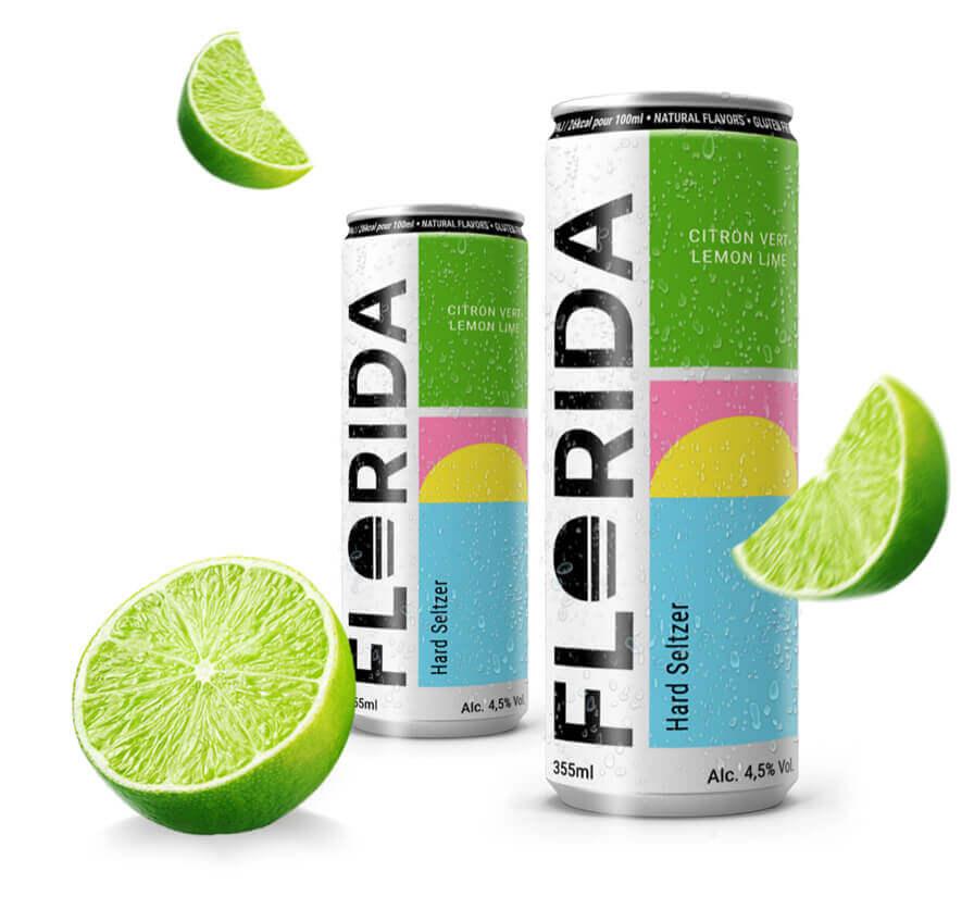 Canettes de boisson Florida Hard Seltzer