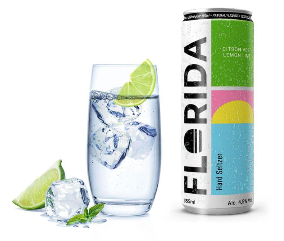 Florida Hard Seltzer, une boisson rafraîchissante au citron vert