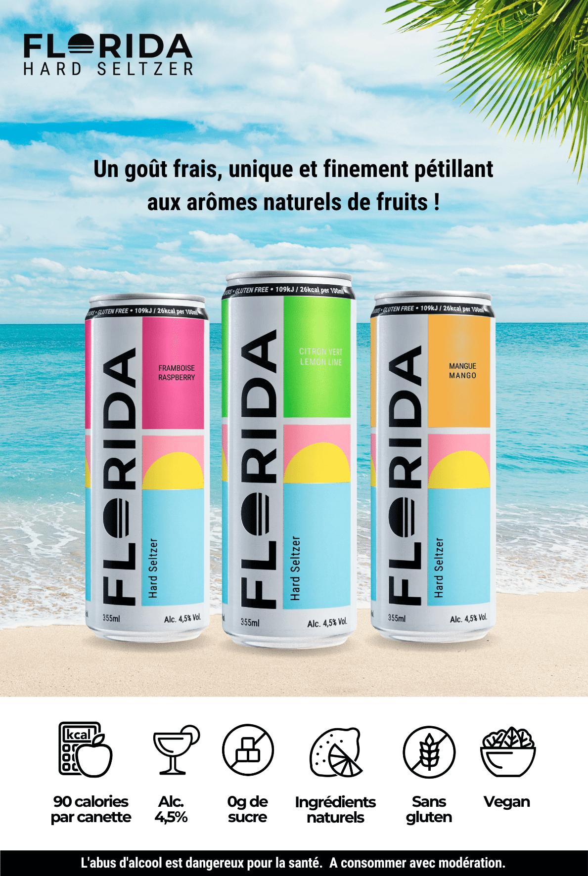 Florida hard seltzer la nouvelle boisson alcoolisée
